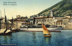 Old Port dubrovnik in cca 1900s