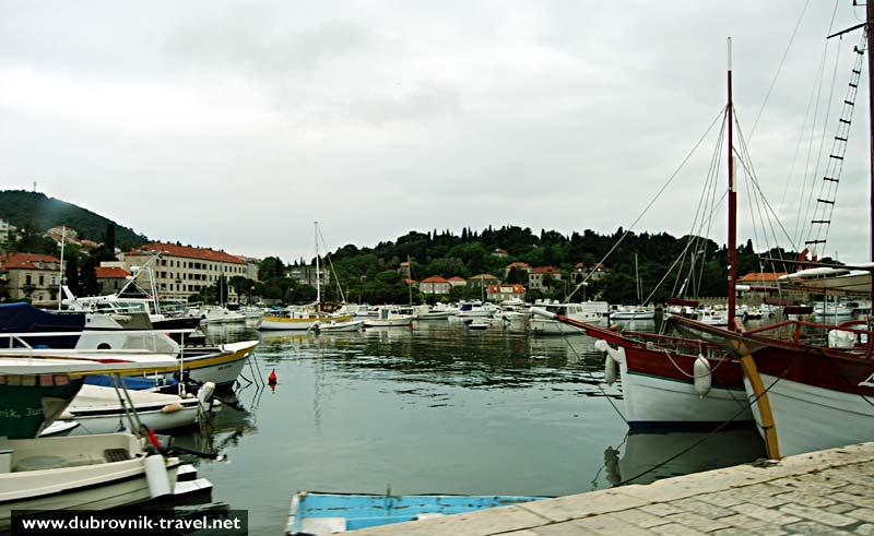 Boats in Gruž, Dubrovnik