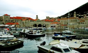 Views over Old Port of Dubrovnik