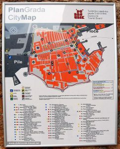 Plan Grada - Dubrovnik City Map