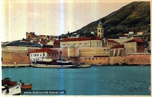 Dubrovnik Port in 1900s