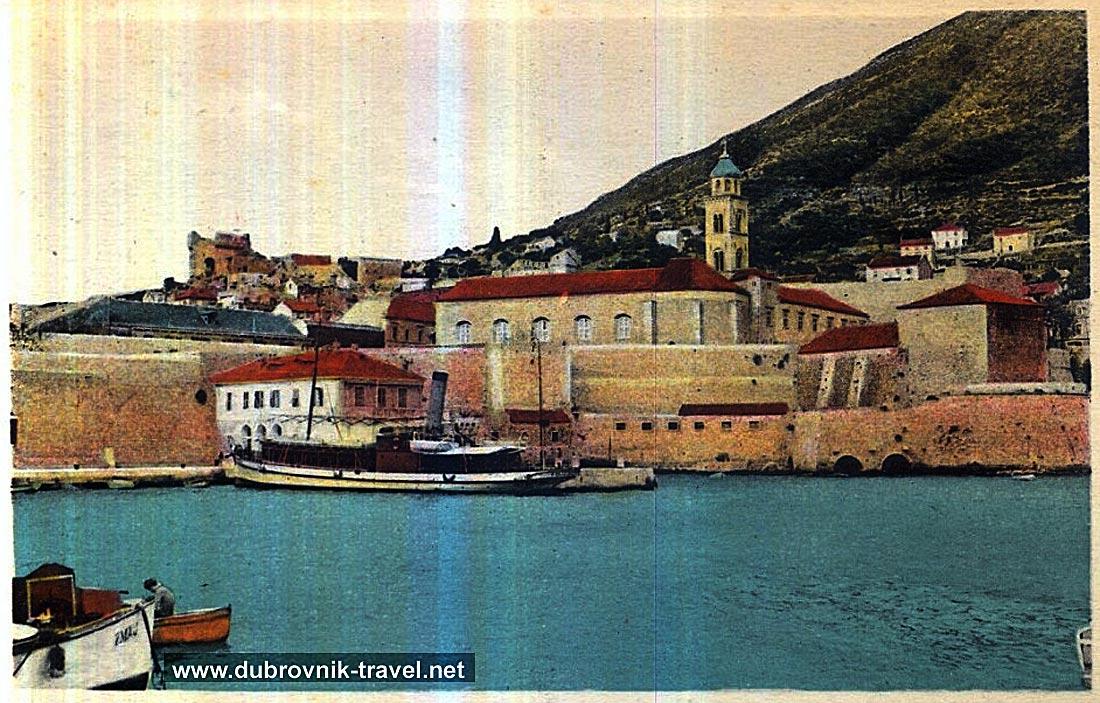 Dubrovnik Port in 1900s