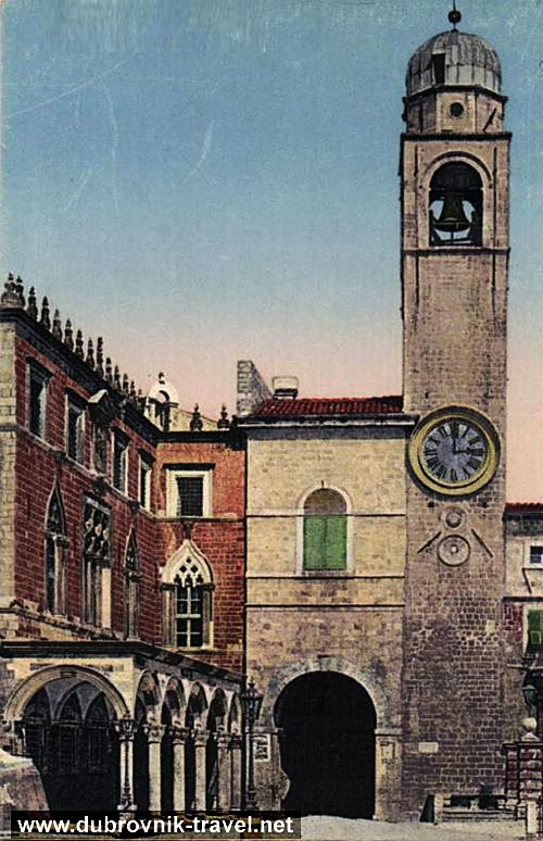 The Clock Tower - Dubrovnik