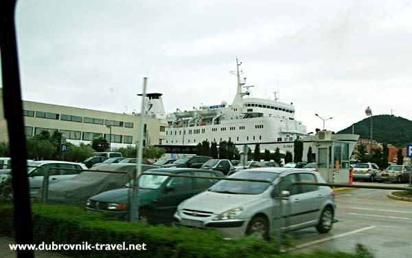 Ferry port/ terminal in Dubrovnik
