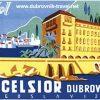 Hotel Excelsior Dubrovnik - Vintage Luggage Label