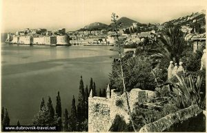 Panorama of Old Town of Dubrovnik (1928)