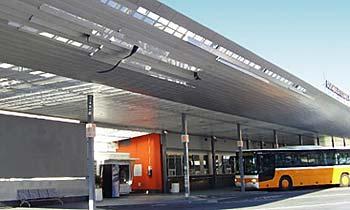 Dubrovnik's main bus station
