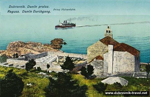 a vintage image of Dance in Dubrovnik