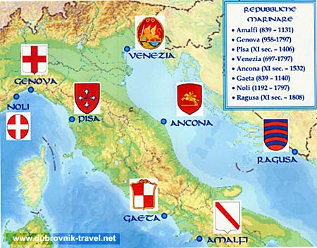 Breaking Away From Venice and Territorial Expansion History of