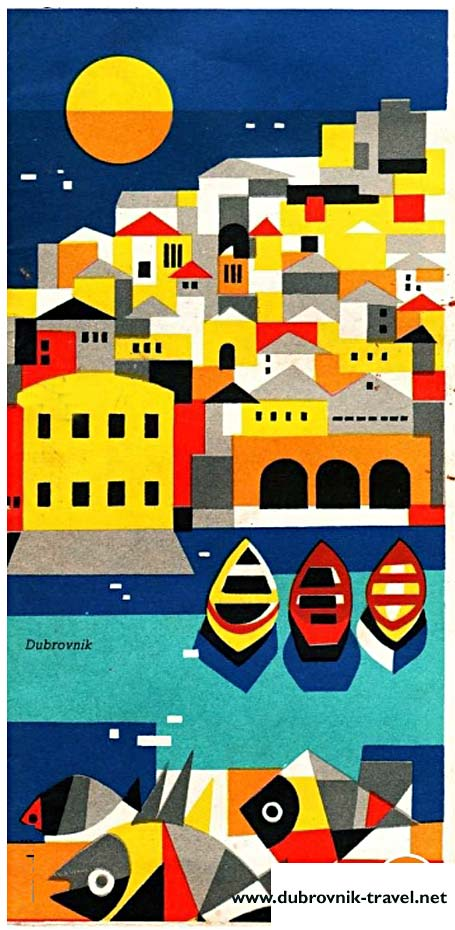 dubrovnik travel brochure 1961