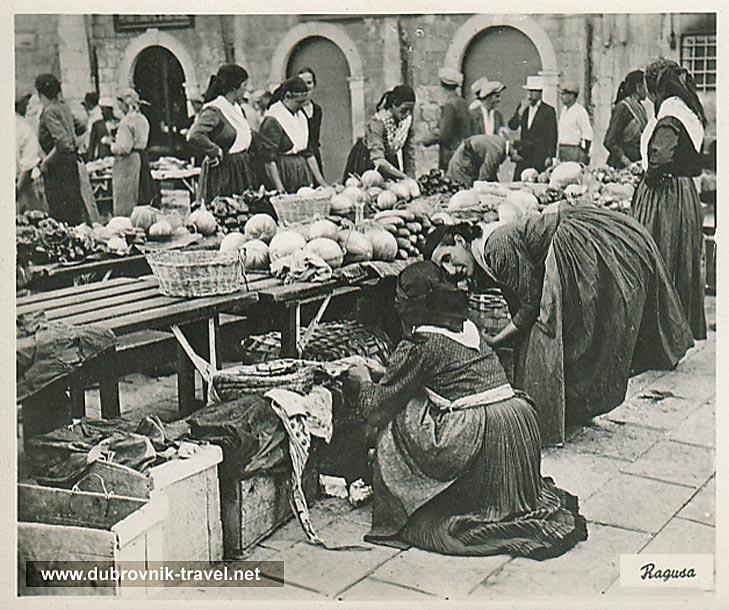 market-pijaca-dubrovnik1930