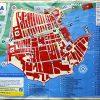 Visitors Map of Dubrovnik