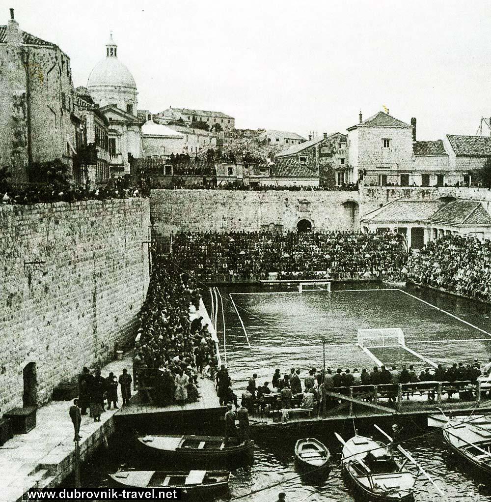 waterpolo in dubrovnik in 1925