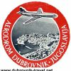 Dubrovnik Airport luggage label – from 1960s