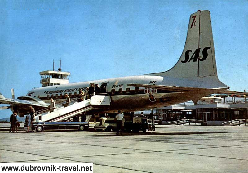 Taking off from the Aiport - 1970s