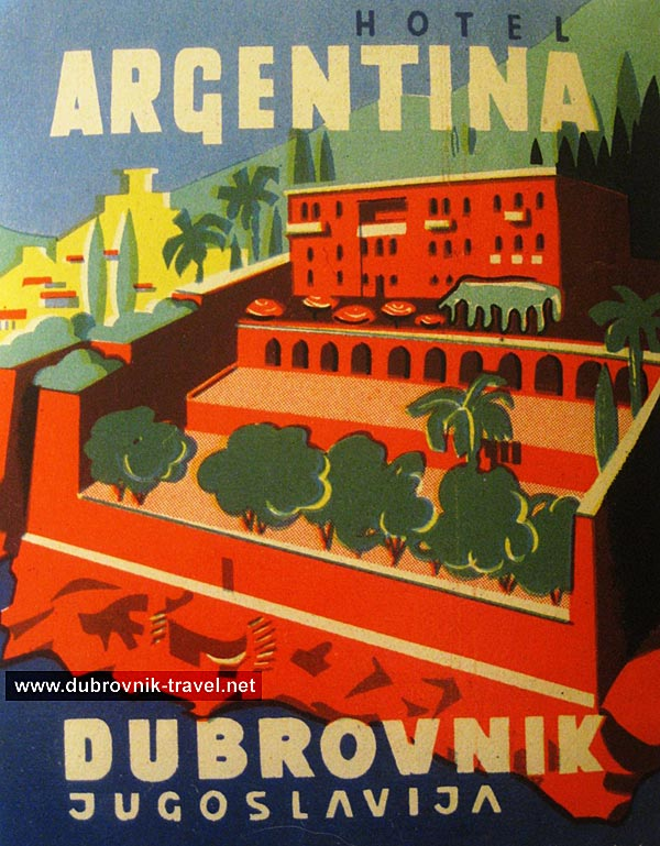 hotel-argentina-dubrovnik1950s