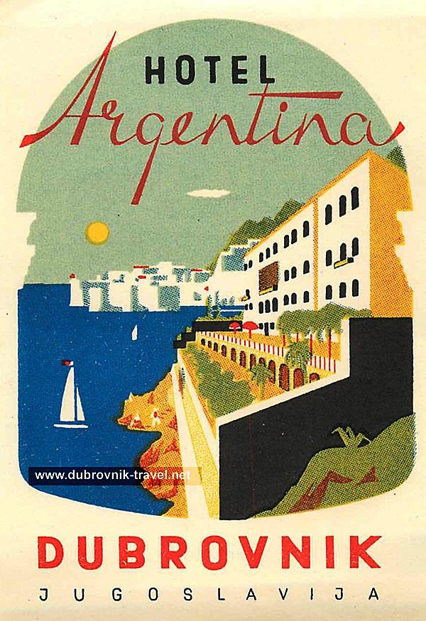 hotel-argentina-dubrovnik1960s