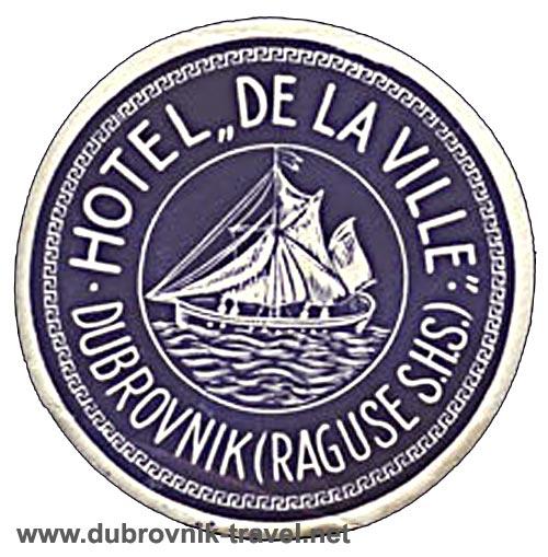 hotel-de-la-ville-dubrovnik1930s