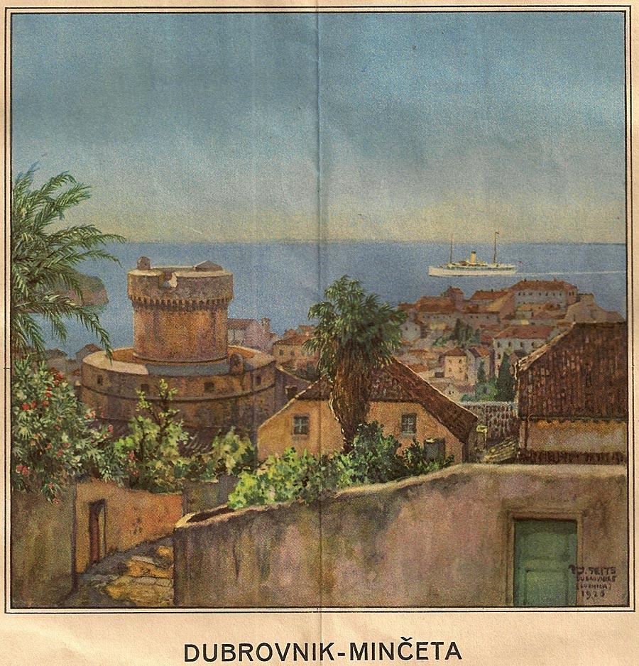 Minceta Tower (photo 1930s)