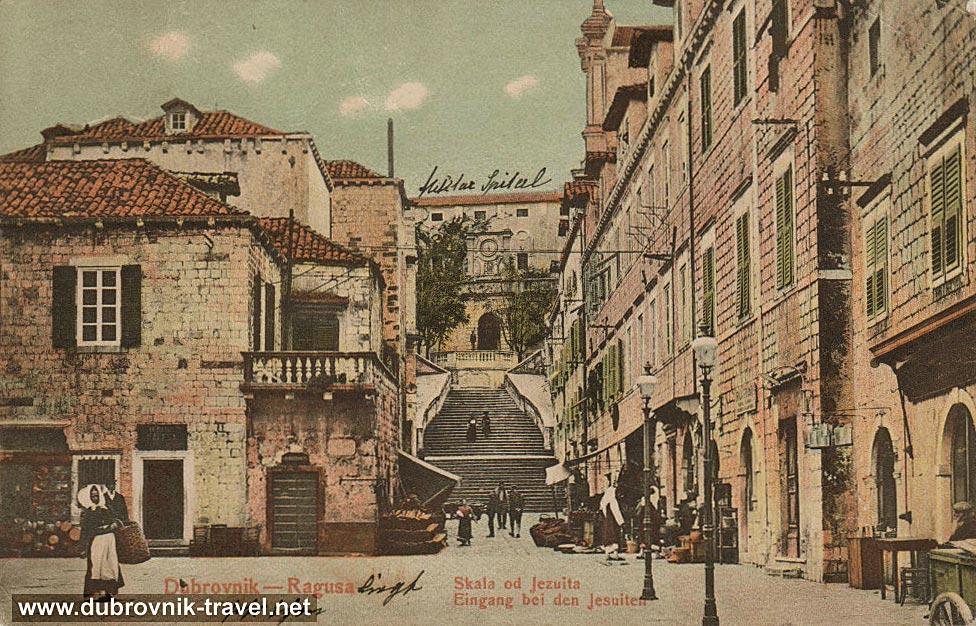 Jesuit-Steps-dubrovnik1906