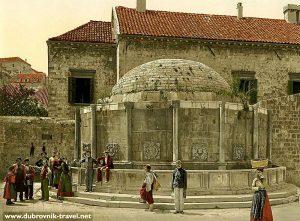 Onofrio's Fountain - Dubrovnik (1900s)