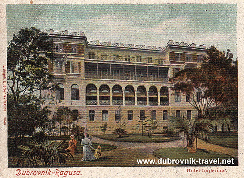 Hotel Imperial, Dubrovnik 1900s