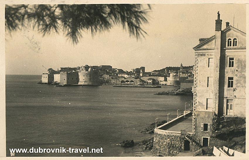 Hotel Odak, Dubrovnik 1940s