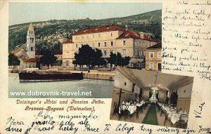 Hotel Petka, Dubrovnik 1904
