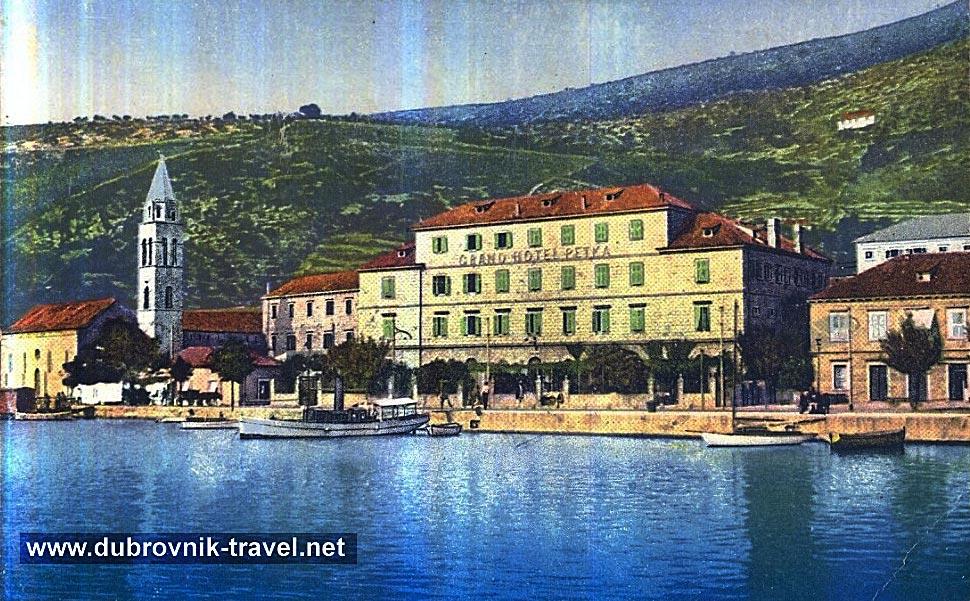 Dubrovnik Hotels Map Hotel Petka Dubrovnik 1900s