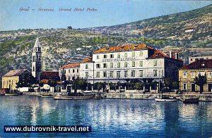 Hotel Petka, Dubrovnik 1910