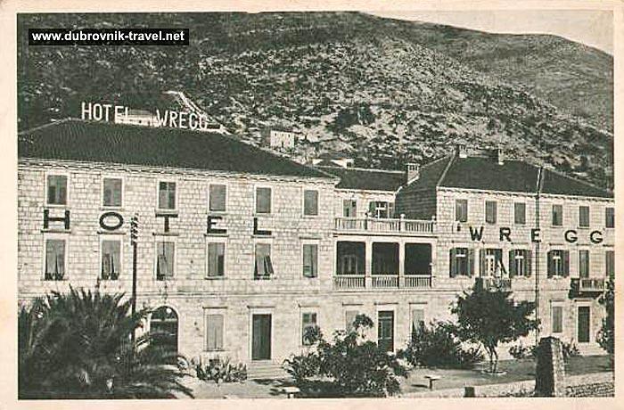 Hotel Wregg, Dubrovnik 1920s