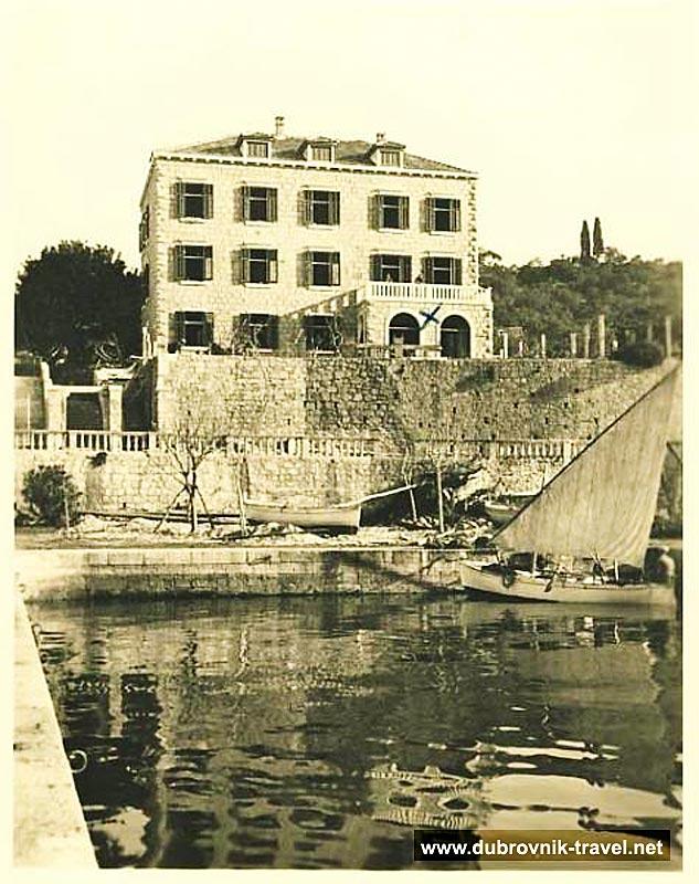 Hotel Kuljevan, Lopud 1930s