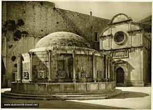 Onofrijeva Fontana, Dubrovnik (1960s)