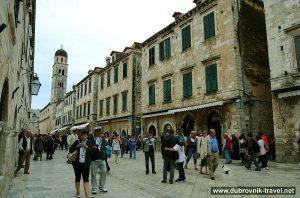 Midday stroll @ Stradun, Dubrovnik