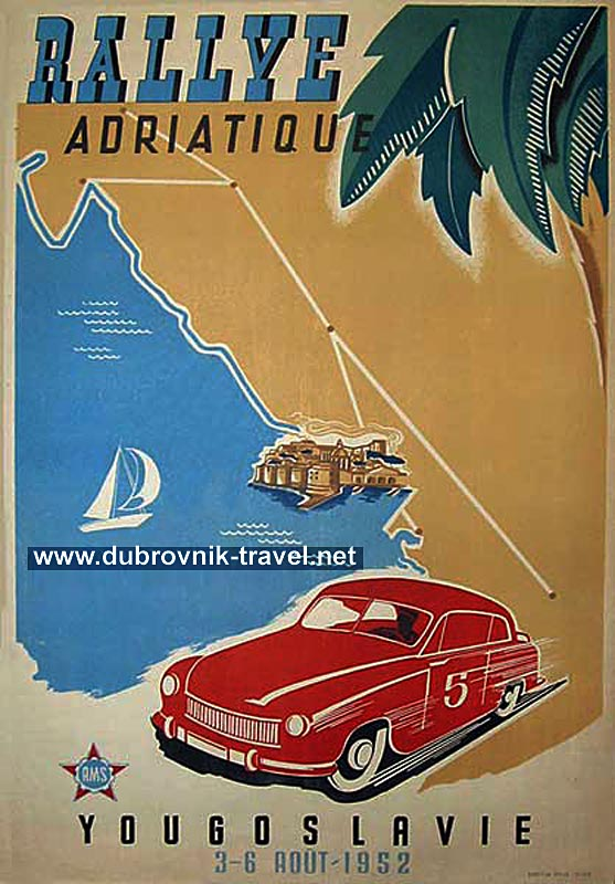 rallye-adriatique-dubrovnik1952