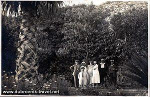 Visiting Lokrum in 1920s - Lokrum Park