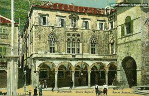 Facade of Sponza Palace - Dubrovnik