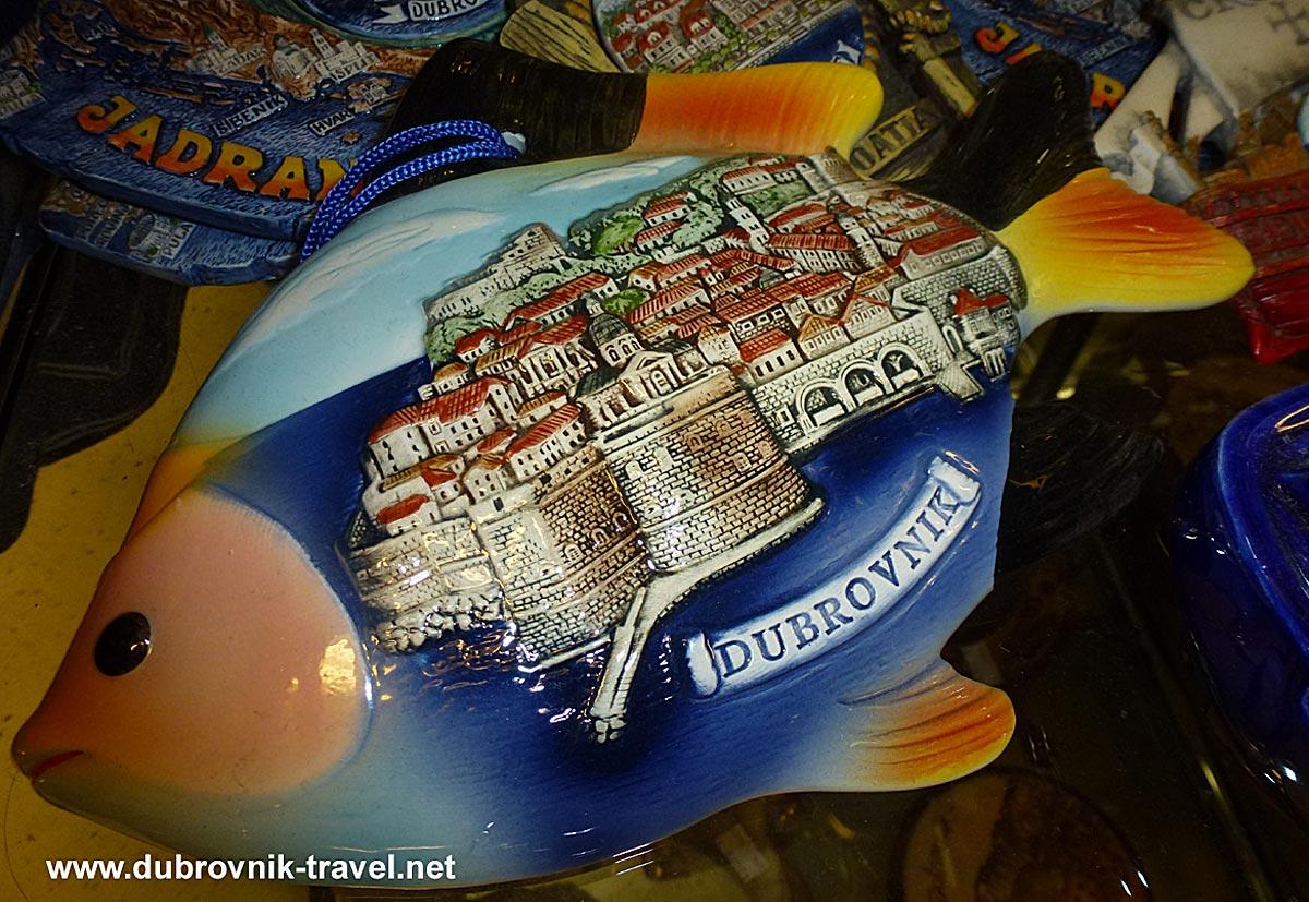 Souvenir Dubrovnik Fish1