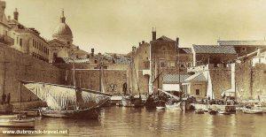 Old Port of Dubrovnik in 1920s