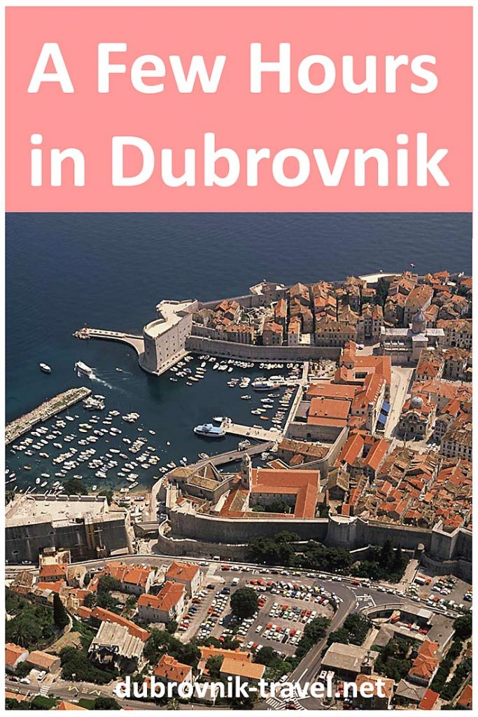 visiting dubrovnik for just a few hours