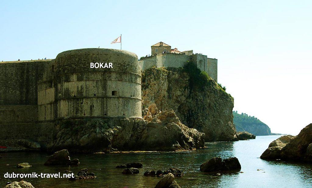the Bokar Fortress(Tvrđava Bokar)