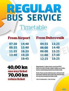 Dubrovnik Airport Bus Shuttle run by Elite Travel Agent