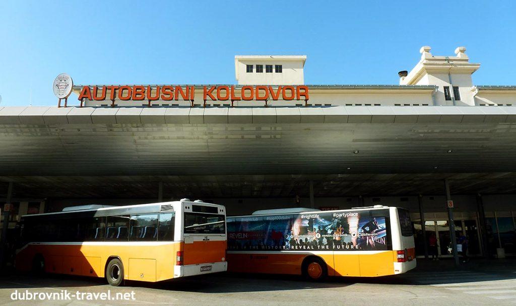 bus terminal in gruz, dubrovnik