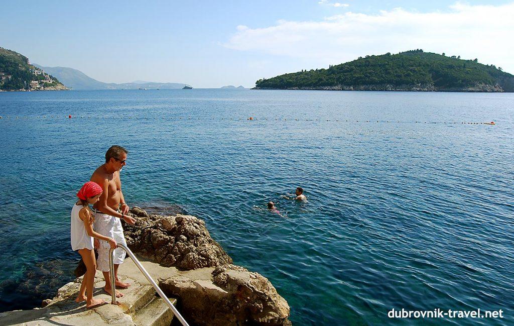 Buža, Dubrovnik