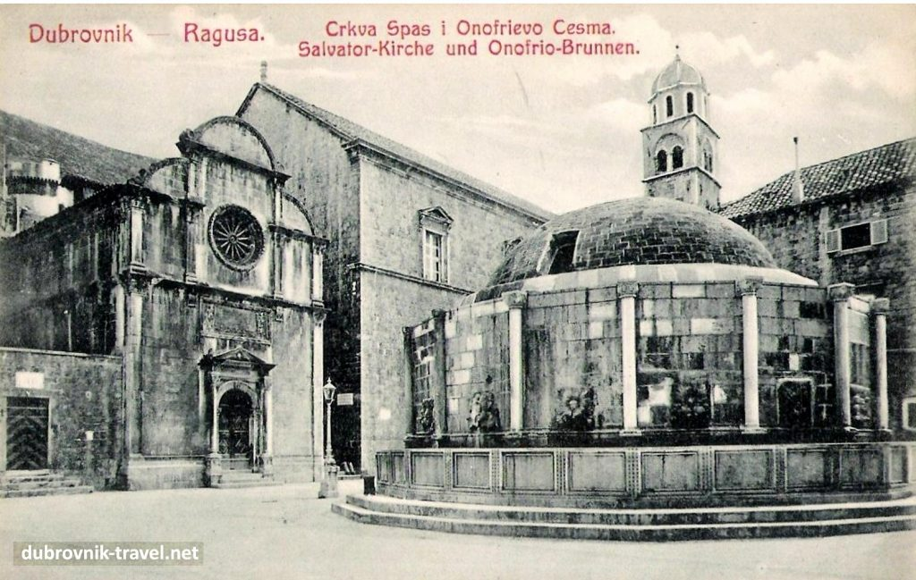 Church's western facade, image from 1915