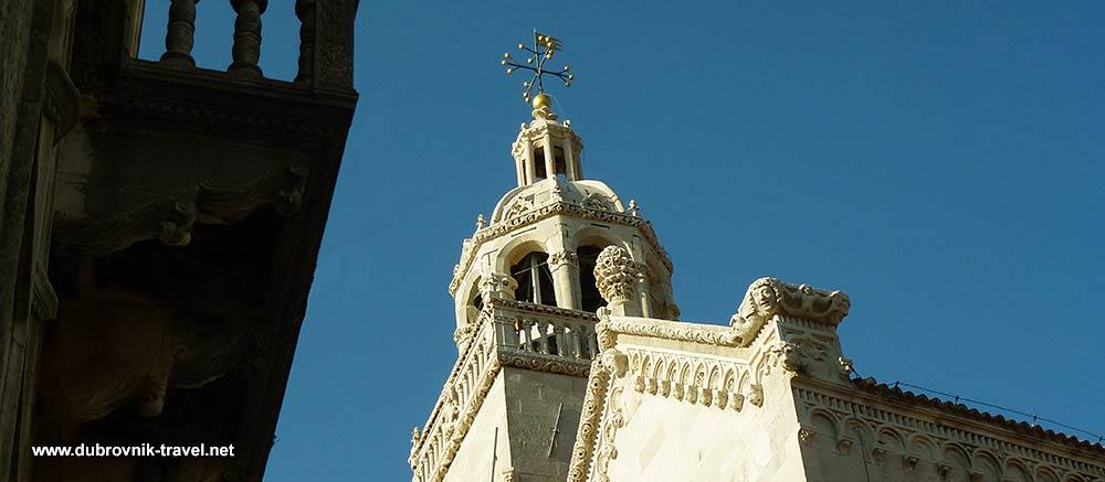 Cathedral Sveti Marko in Korčula Old Town
