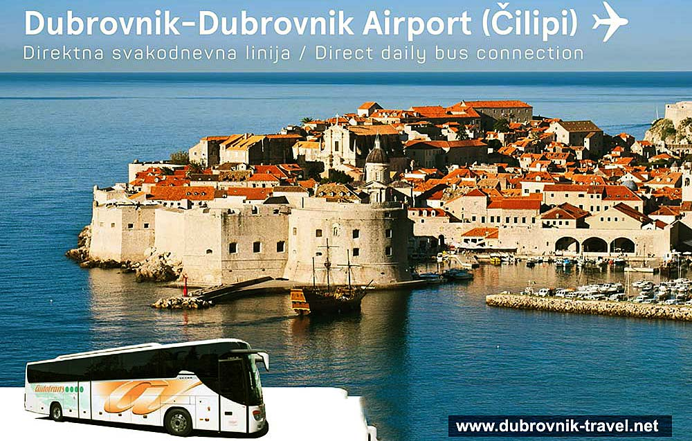 Dubrovnik airport Bus Service