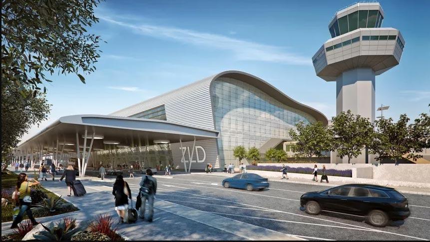 New Dubrovnik Airport passenger terminal