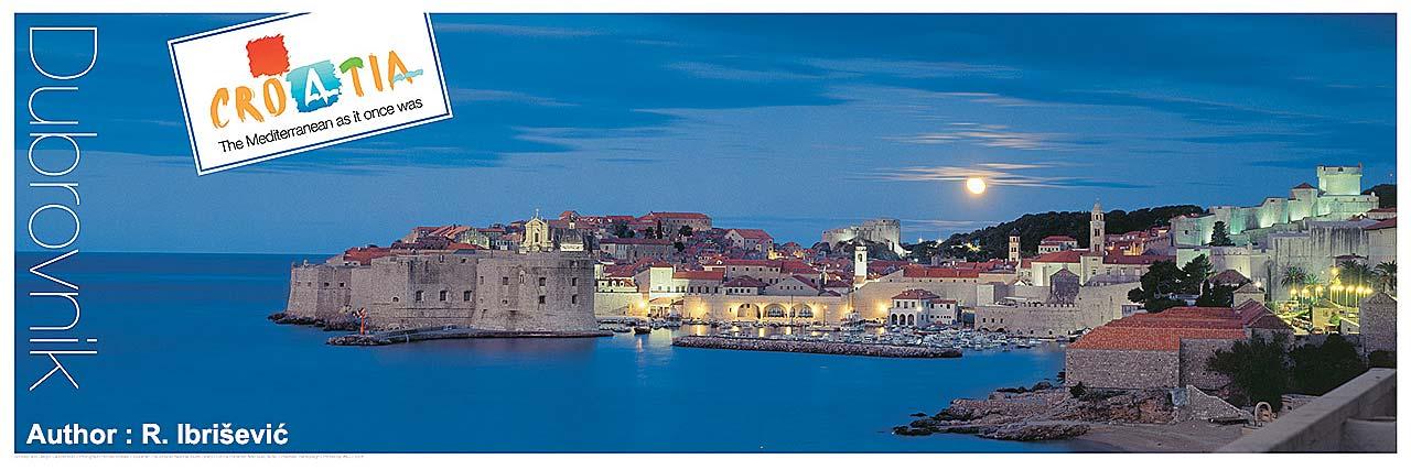 Dusk in Dubrovnik (Poster)