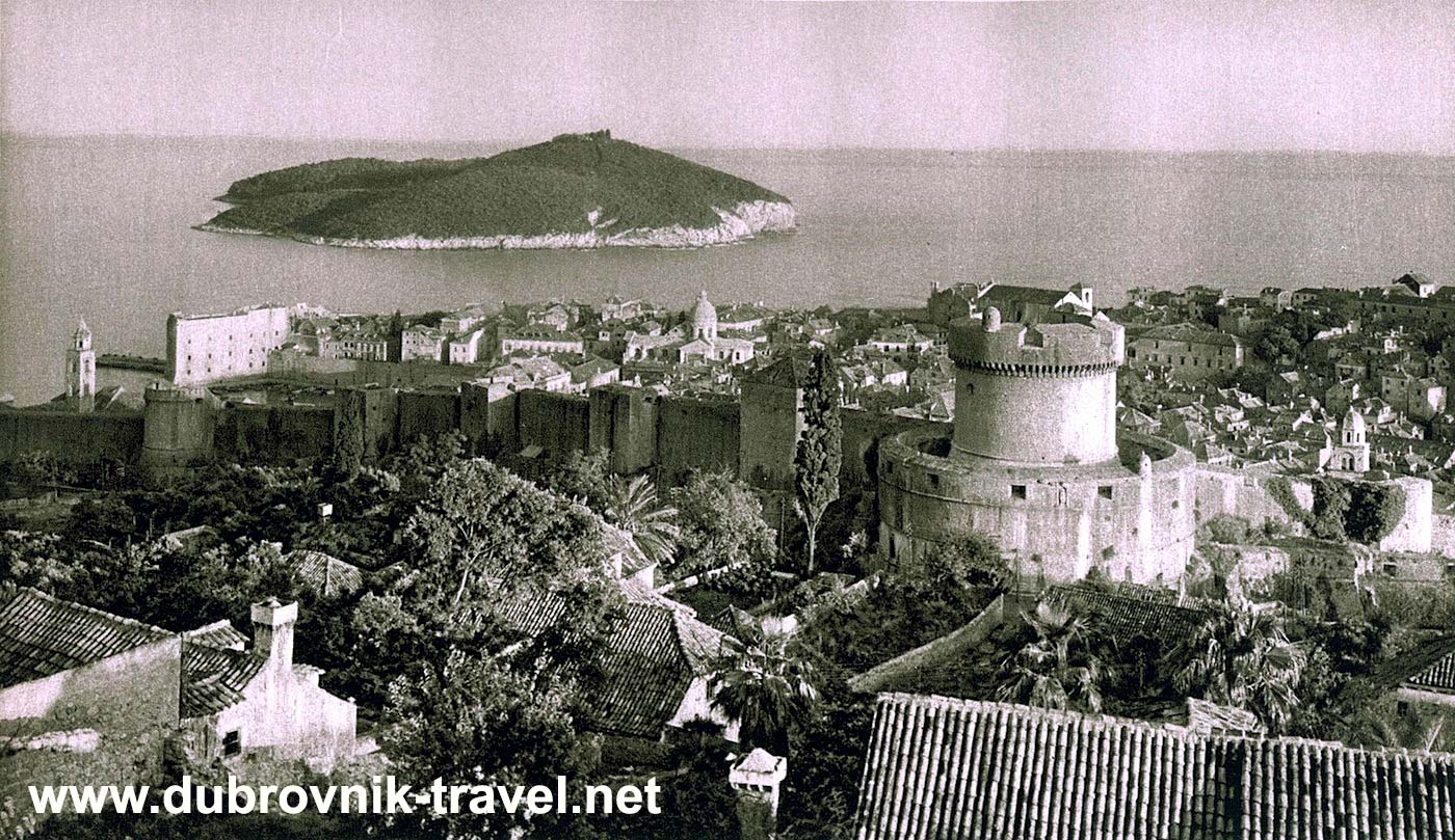 Views over Dubrovnik Town Walls (1920s)